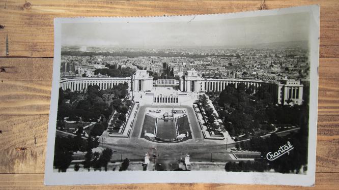 Carte postale ancienne : Paris, Chaillot