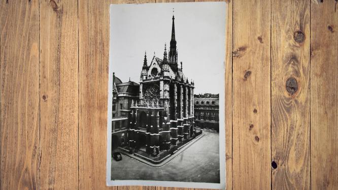 Carte postale ancienne : Paris, Sainte Chapelle