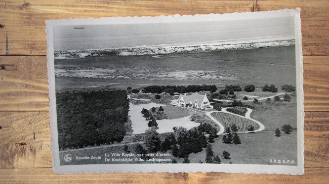 Carte postale ancienne : Knocke-Zoute, Belgique
