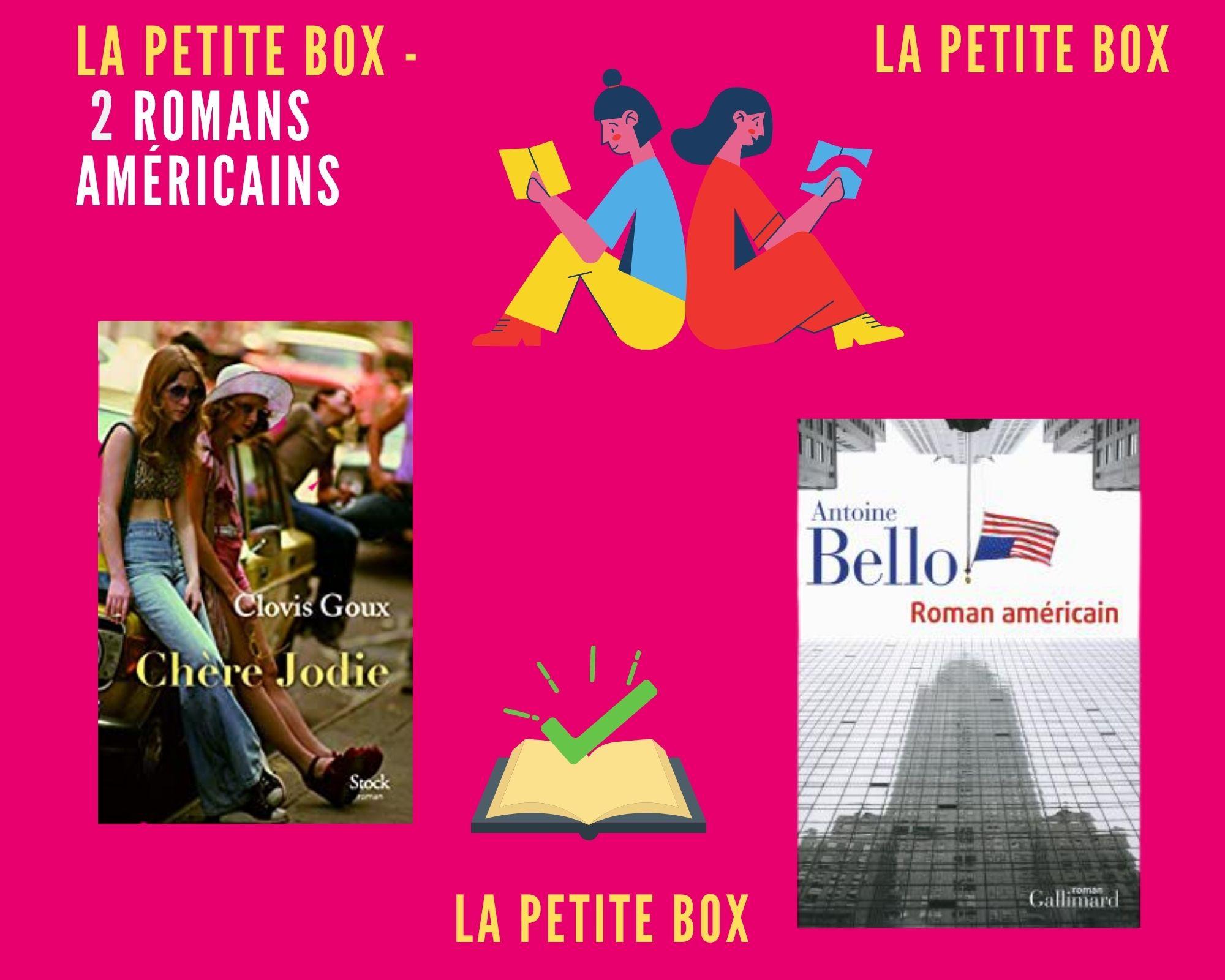 La petite box de la BBB : romans américains