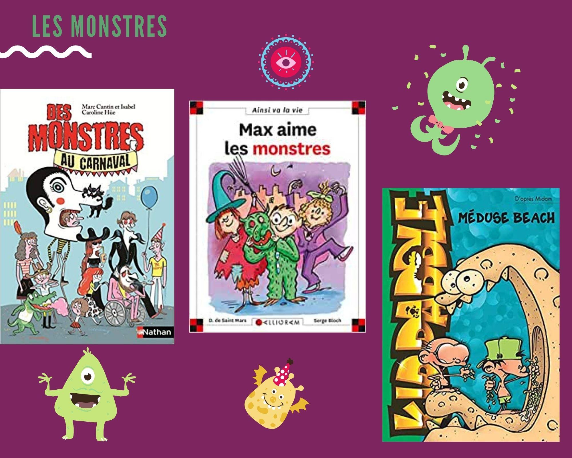 Box kid J\'aime les monstres