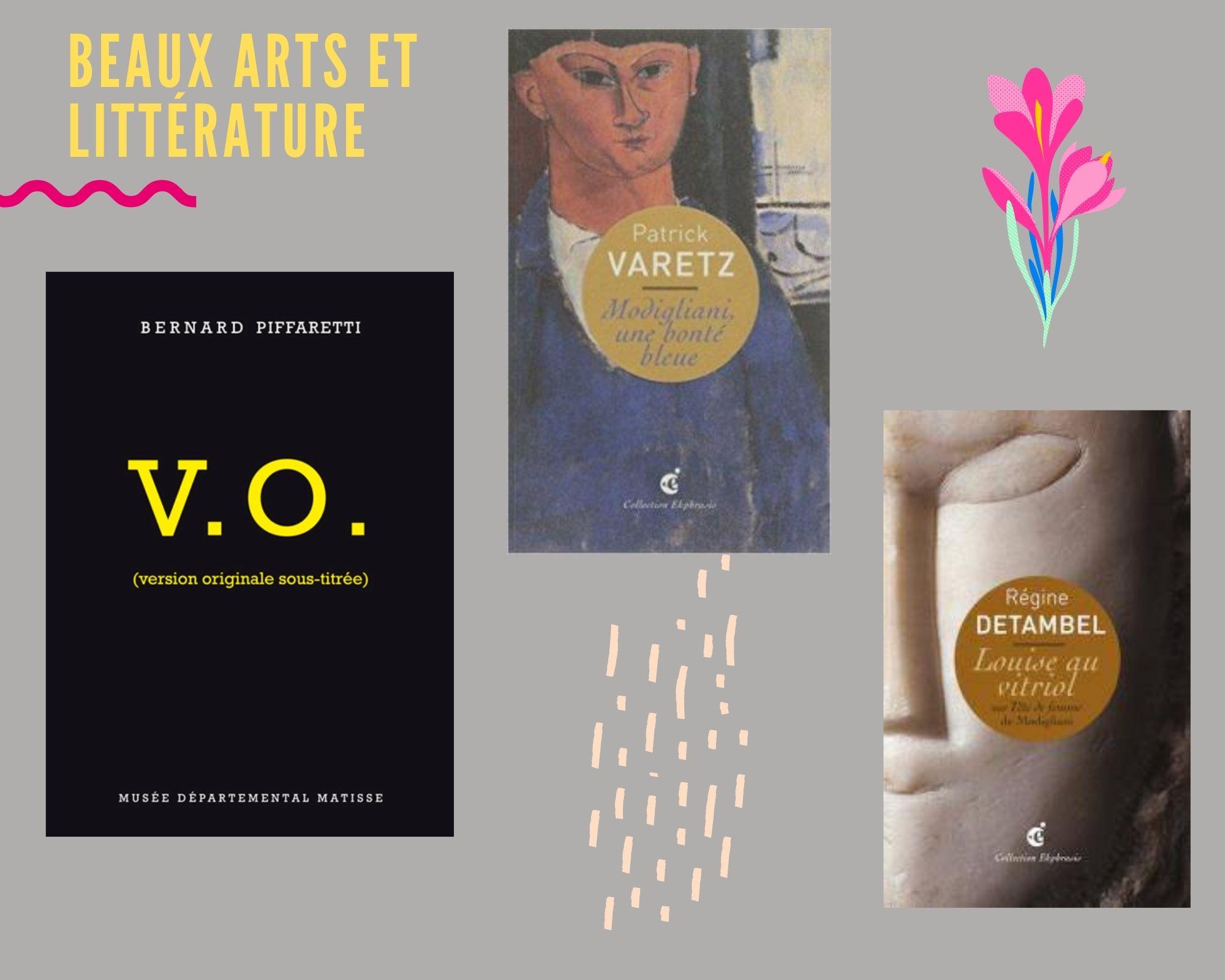 Box Beaux arts et littérature