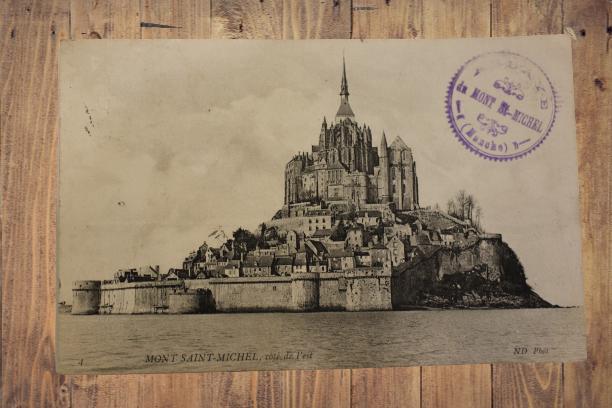 Carte postale ancienne : Mont Saint-Michel