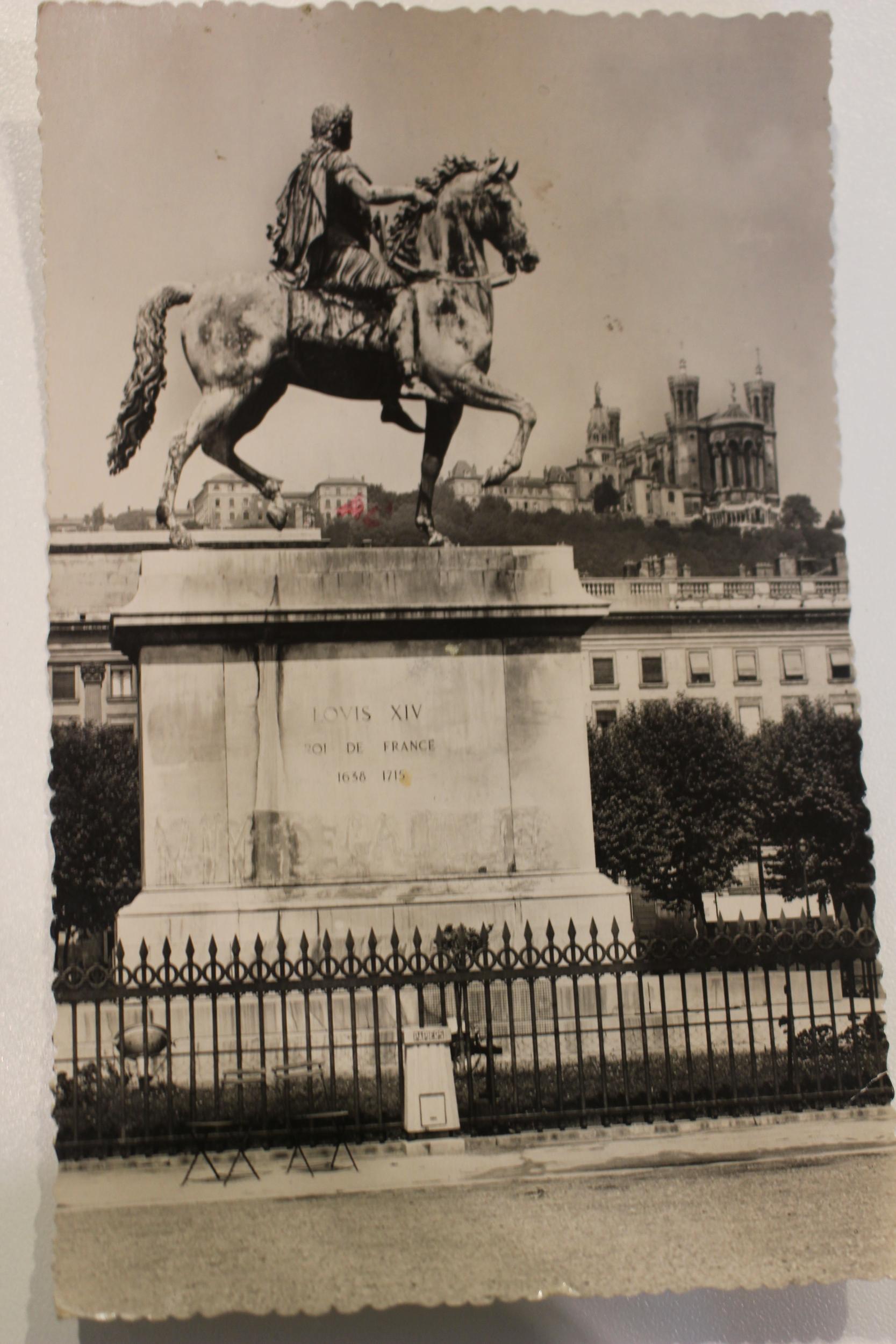 Carte postale ancienne : Lyon