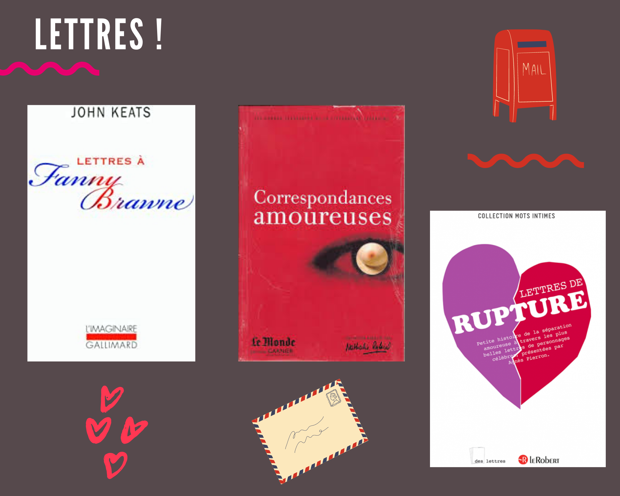 box 59 correspondance amoureuse