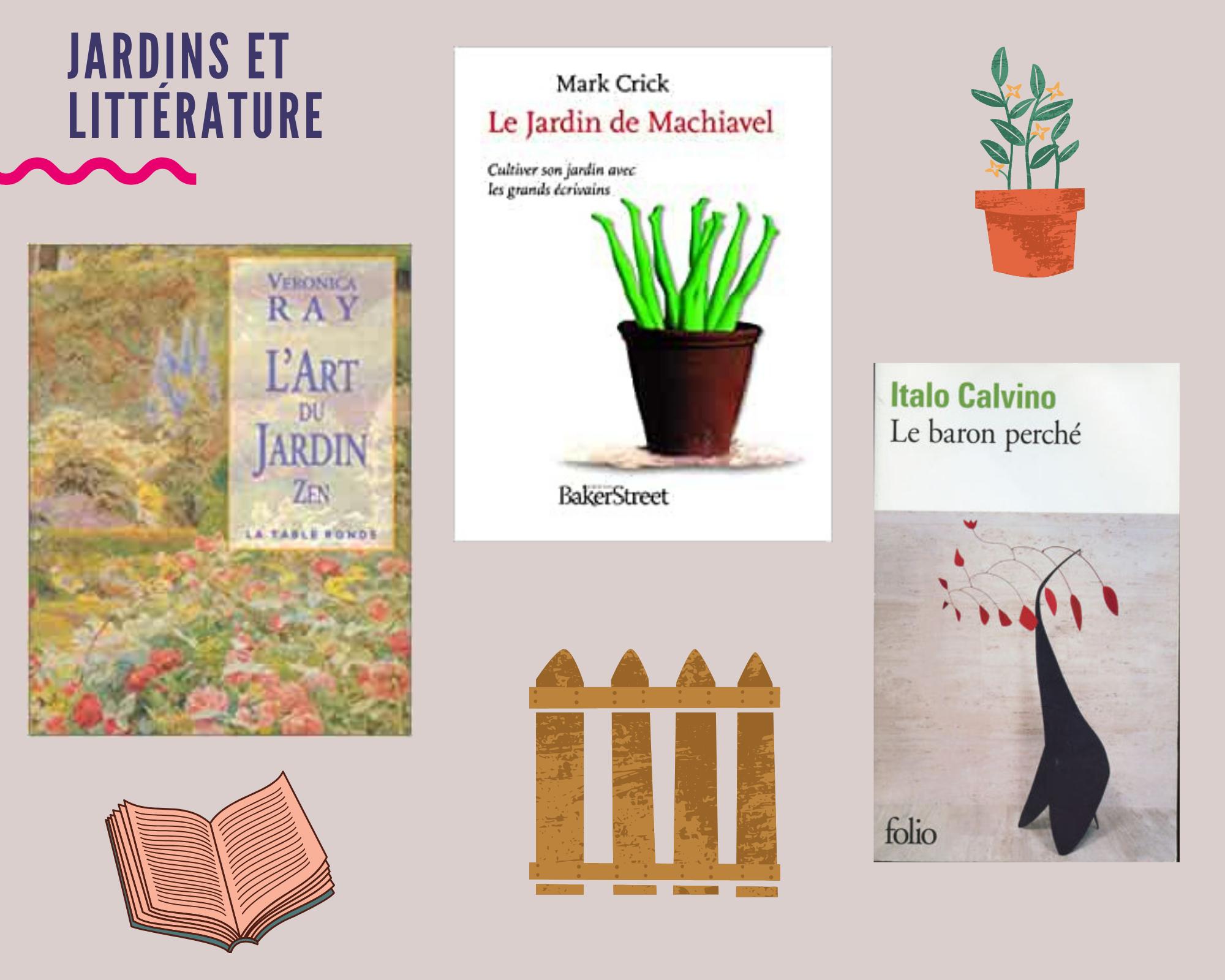 Box Jardins et littérature