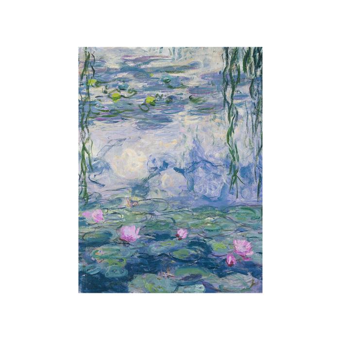 Cahier d'artiste, Monet, Nymphéas