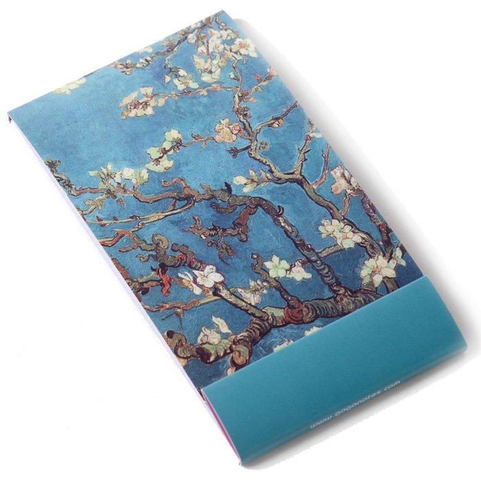 Notelet, fleur d'amandier, Vincent van Gogh