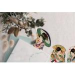 marque-pages-lecture-style-estampes-japonaises-accordeon-personnages 2