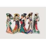 marque-pages-lecture-style-estampes-japonaises-accordeon-personnages 3