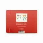 Carnet de croquis, quatre tulipes