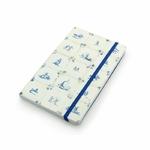 Carnet à couverture souple, carreaux bleus de Delft
