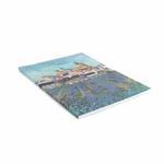 Cahier dartiste, vue des Saintes-Maries-de-la-Mer, Van Gogh