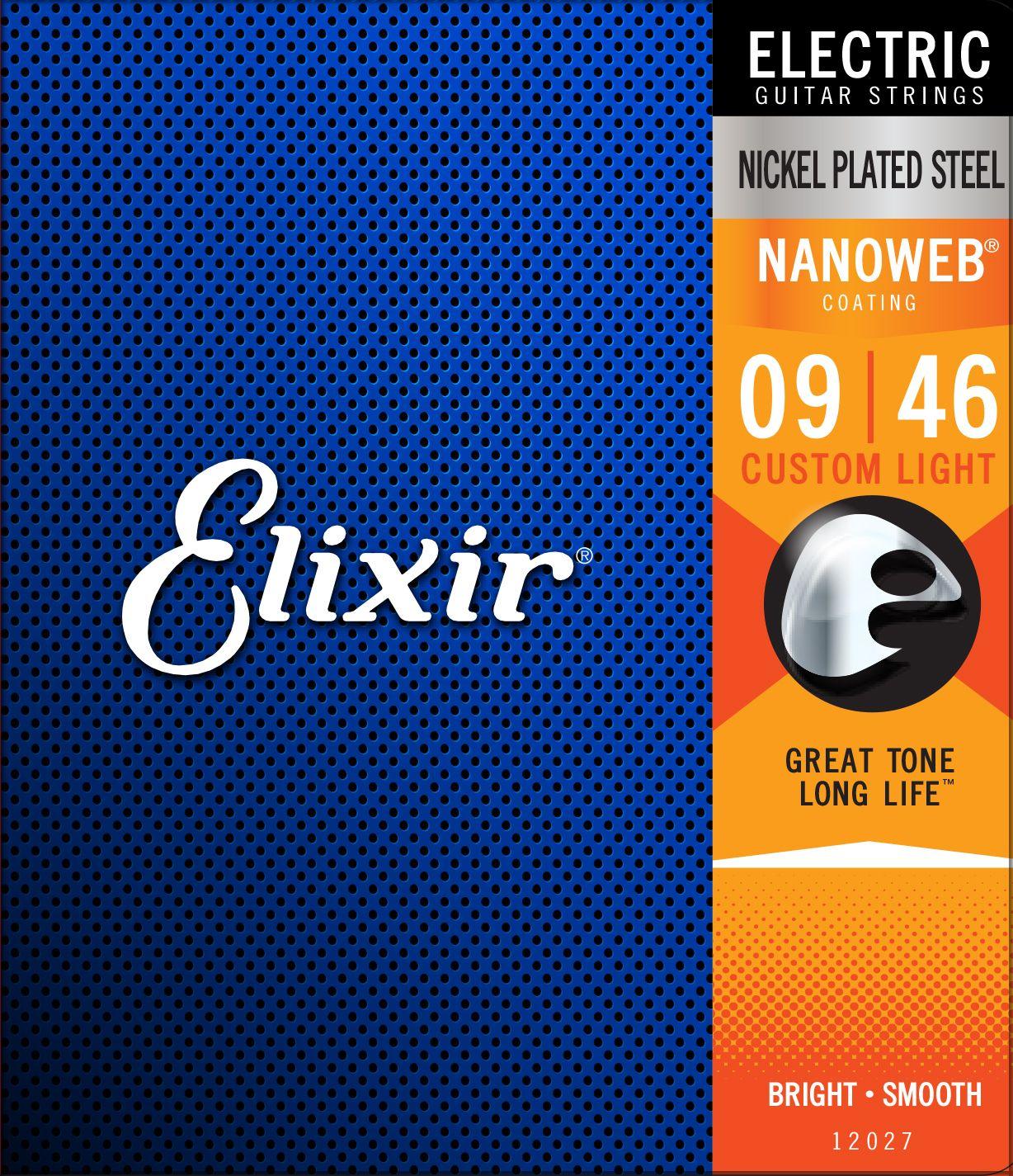 Elixir Nanoweb Custom Light 09-46