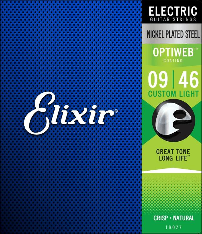 Elixir Optiweb Custom Light 09-46