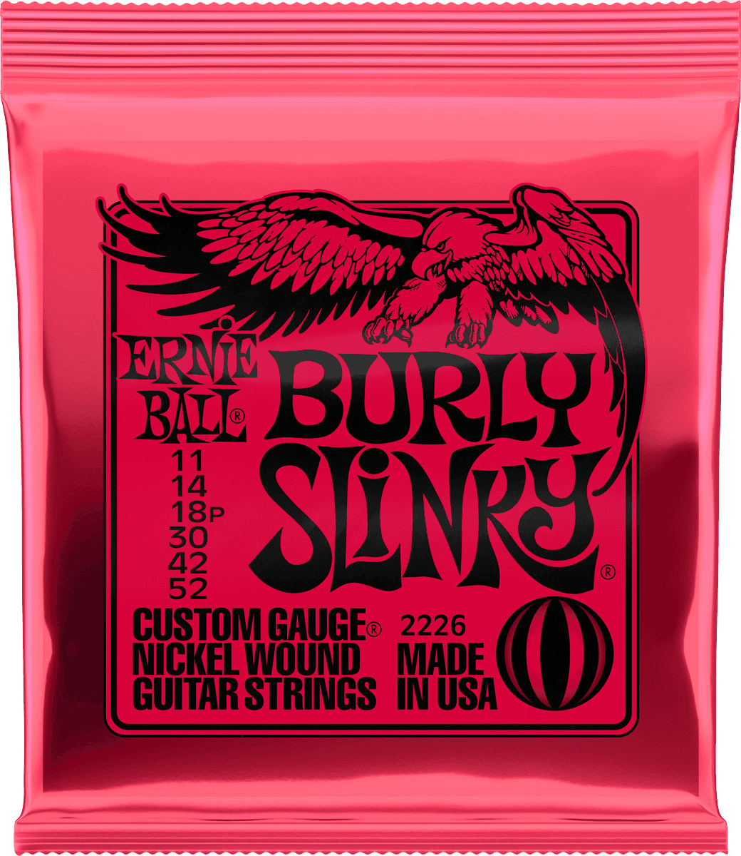 Ernie Ball Burly slinky 11-52