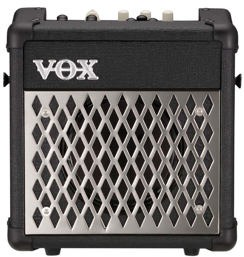 VOX Mini5 Rhythm Combo Guitare portable à modéalisation