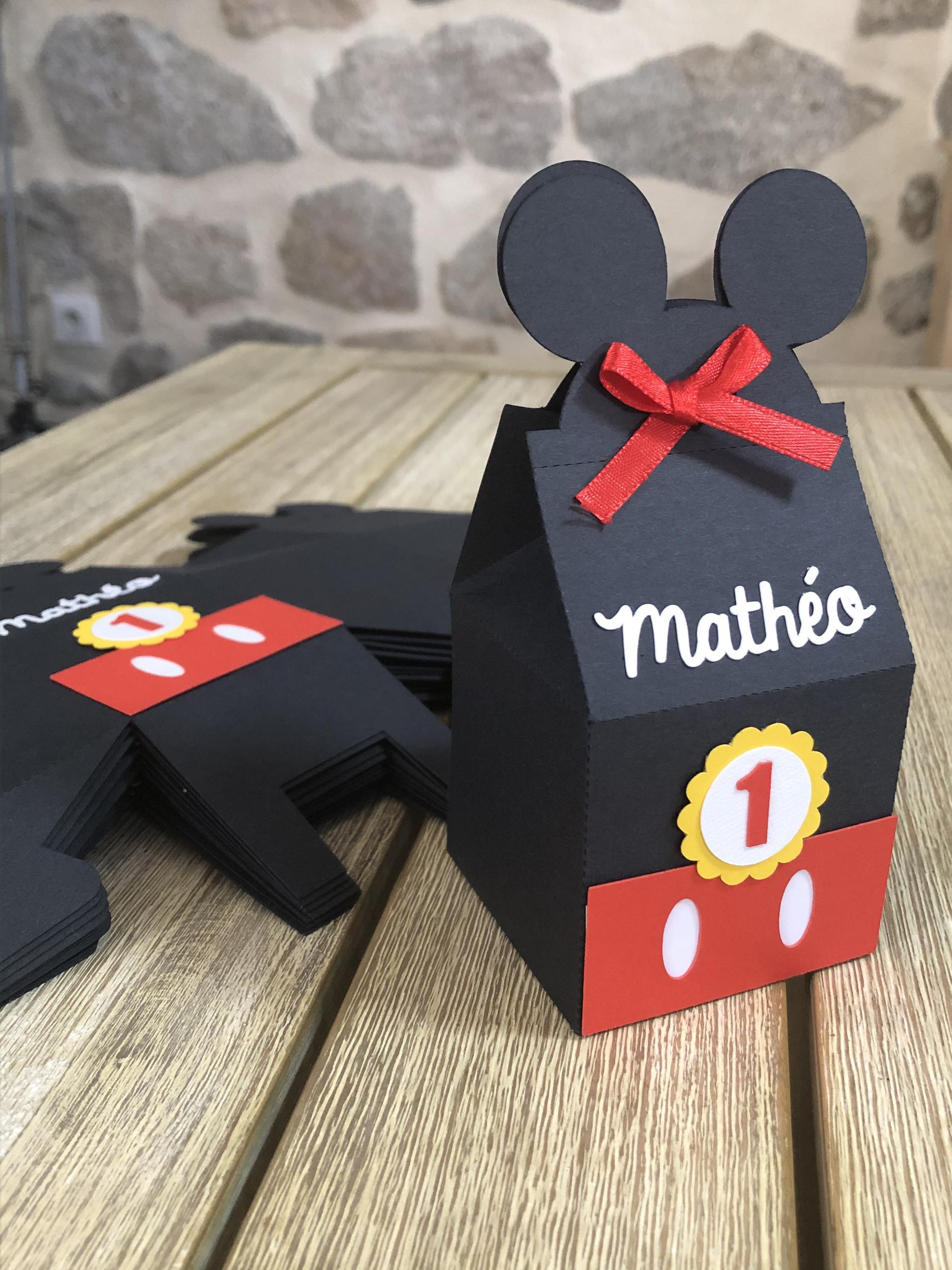 Boîtes à bonbons Mickey