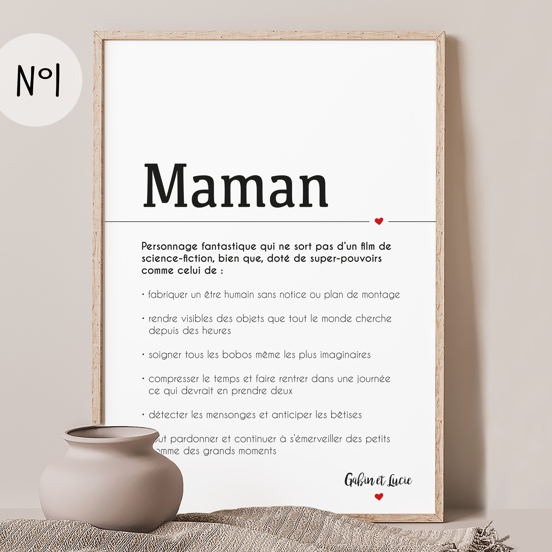 Affiche Maman