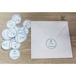 enveloppes + etiquettes