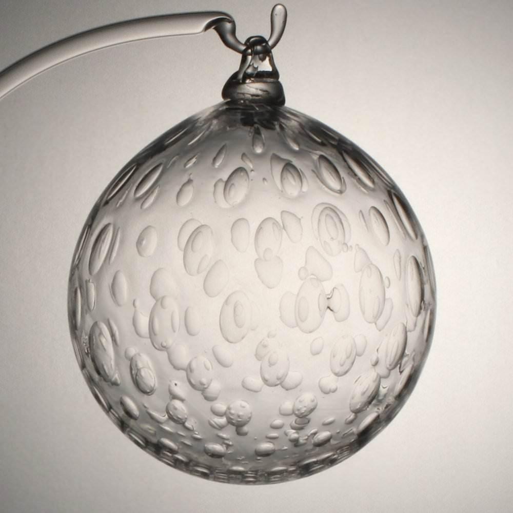 Boule de no l bulles r guli res collection no l cristal lehrer for Boule laser noel