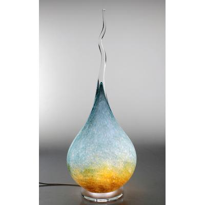 Lampe Flamme  en cristal #2021_4