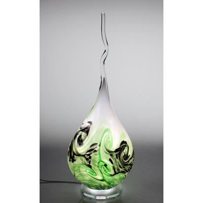 Lampe Flamme  en cristal #2021_5