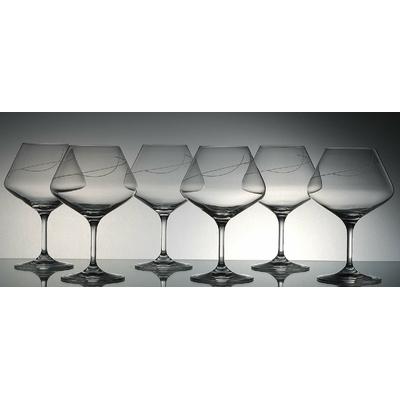 6 verres Amplitude Taille spirale