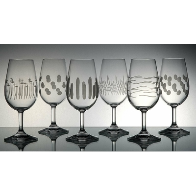 6 verres Inao Taille Moderne