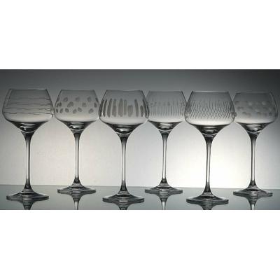 6 verres Sommelier Taille Moderne