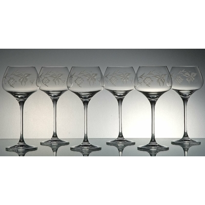 6 verres Sommelier Taille Sarment