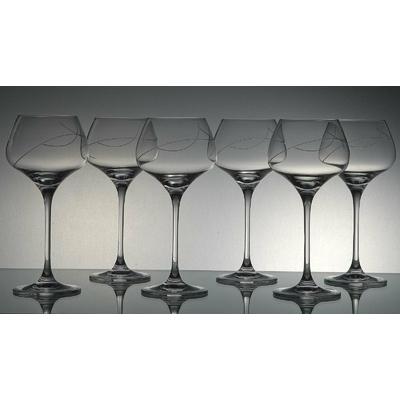 6 verres Sommelier Taille Spirale
