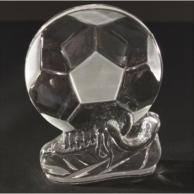 Chaussure de foot + ballon de football plat