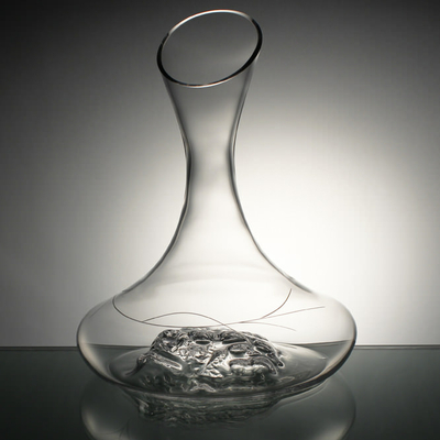 Carafe Grappe taille spirale