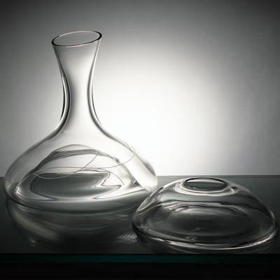 Carafe avec refroidisseur taille spirale