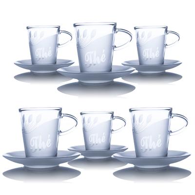 6 Tasses à Thé