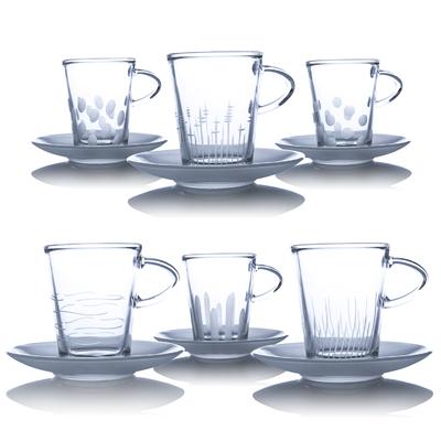 6 Tasses à Café Taille Moderne