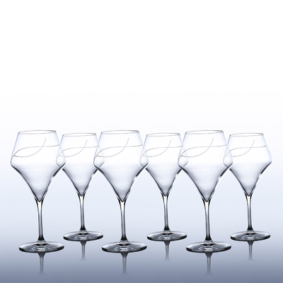 6 verres Oenologie Dégustation Bourgogne Taille Spirale