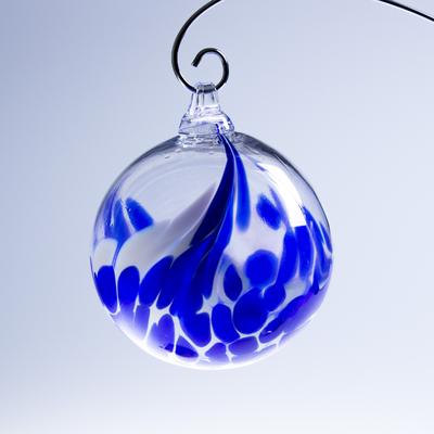 Boule de Noël ; Bleu