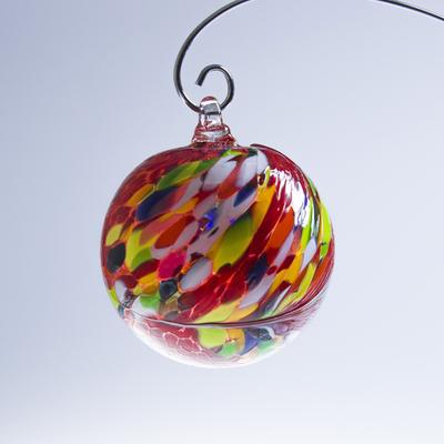 Boule de Noël ; Coloris Rouge, Blanc, Jaune, Vert