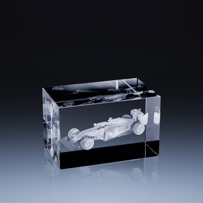 Bloc Horizontal 8x5x5cm Voiture Formule 1