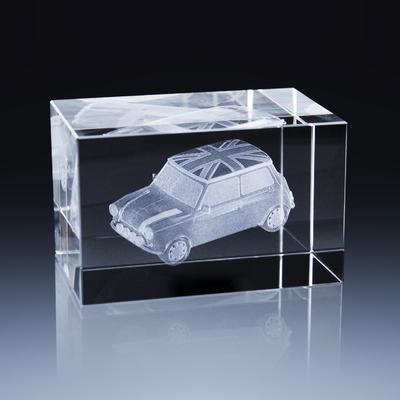 Bloc Horizontal 8x5x5cm Voiture Mini