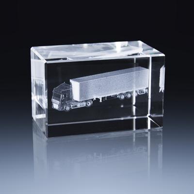 Bloc Horizontal 8x5x5cm Voiture Semi-Remorque