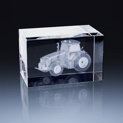 Bloc Horizontal 8x5x5cm Tracteur