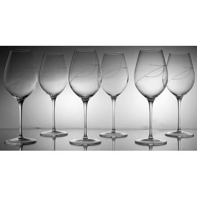 6 verres Maturo vin rouge Taille Spirale