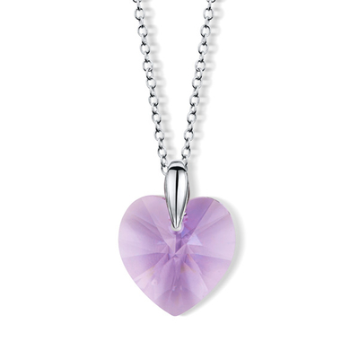Aurora Collier coeur en cristal Swarovski®