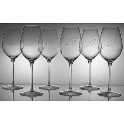 6 verres Fresco vin blanc Taille Spirale