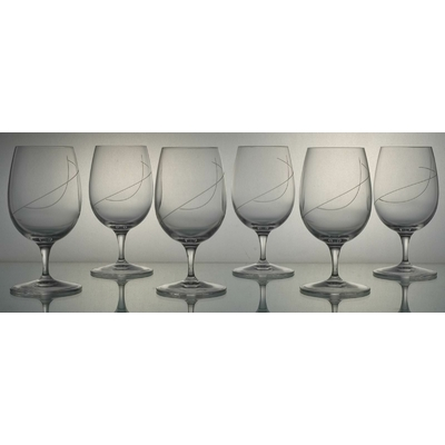 6 verres Palace Eau Taille Spirale