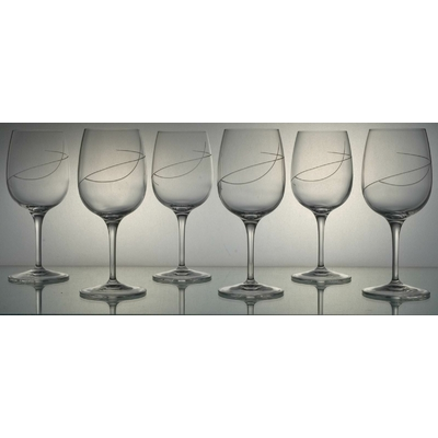 6 verres Palace Vin rouge Spirale