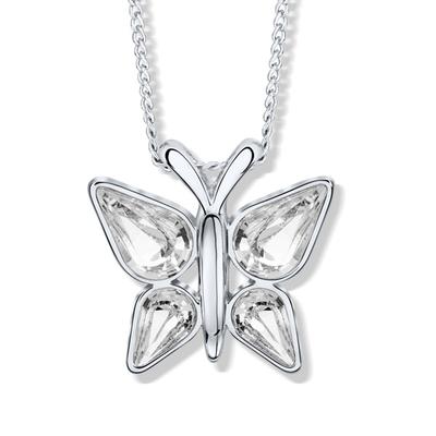 Papillon Collier en cristal Swarovski®
